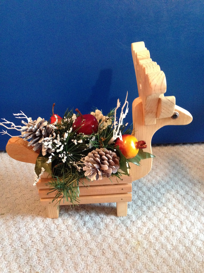 Reindeer Home Decor One Of A Kind
