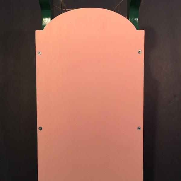 ChalkboChalkboard-Sled-Coral-Handmade-Wood